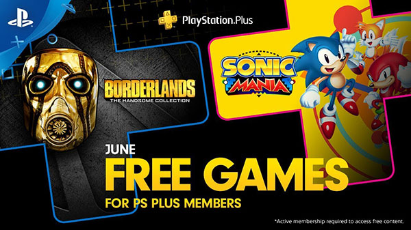 PlayStation Plus free games for June 2019