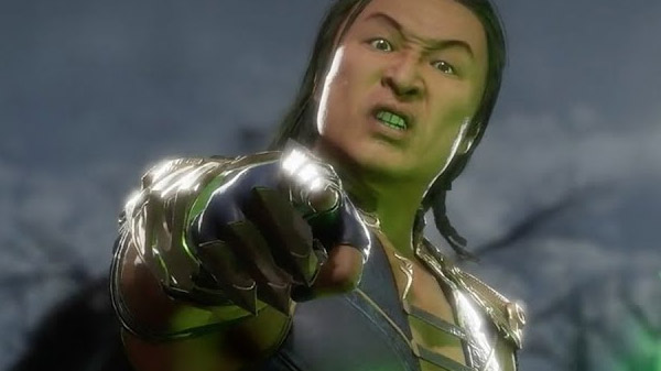 Mortal Kombat 11 DLC characters Nightwolf, Sindel, and Spawn
