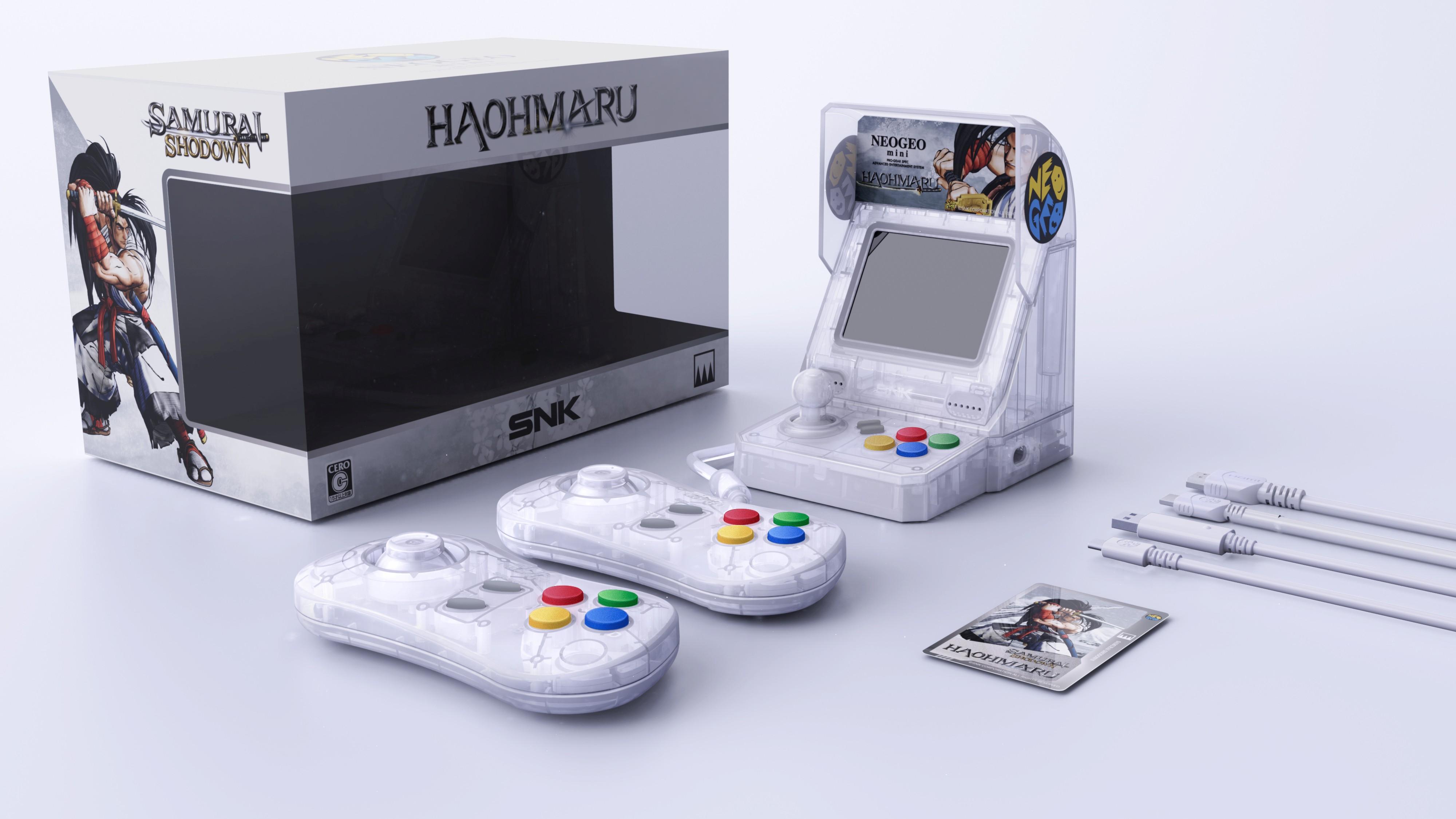 Neo Geo Mini Samurai Shodown Limited Set announced for Japan