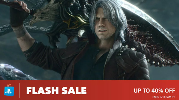 PlayStation Store Flash Sale: Devil May Cry 5, Tales of Vesperia: Definitive Edition, One Piece: World Seeker, more