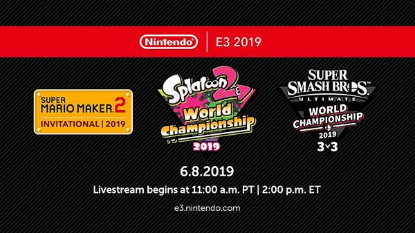 Nintendo World Championship 2019 tournaments