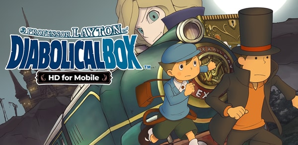 Professor Layton and the Diabolical Box HD for Mobile