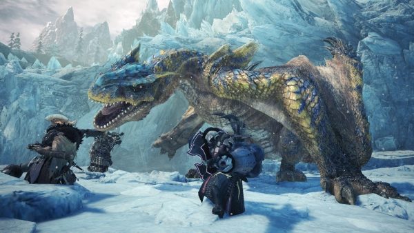 Iceborne shows off new monsters, weapons, and a fresh story