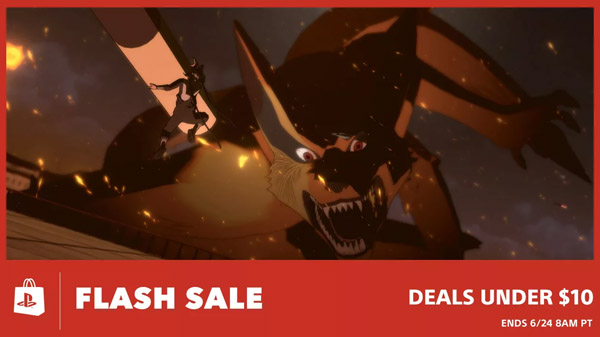 PlayStation Store Flash Sale: Naruto: Ultimate Ninja Storm series, Dark Souls 2: Scholar of the First Sin, and more for under $10