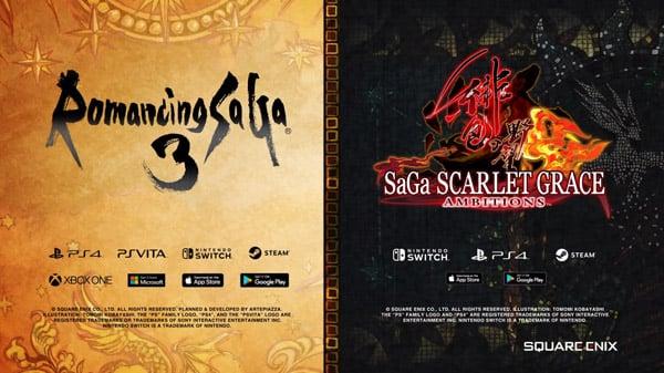 Romancing SaGa 3 and SaGa Scarlet Grace: Ambitions