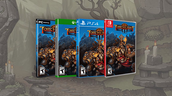 Torchlight II for PS4, Xbox One, and Switch launches September 3