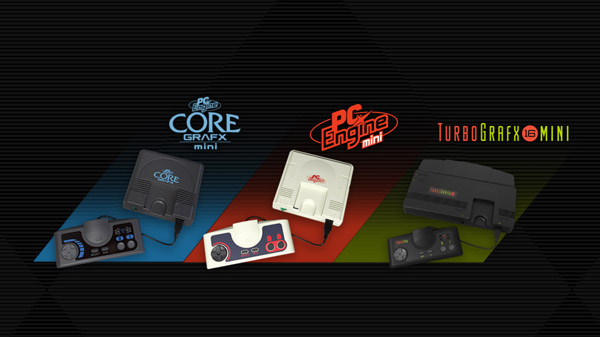 Konami unveils TurboGrafx-16 mini game console