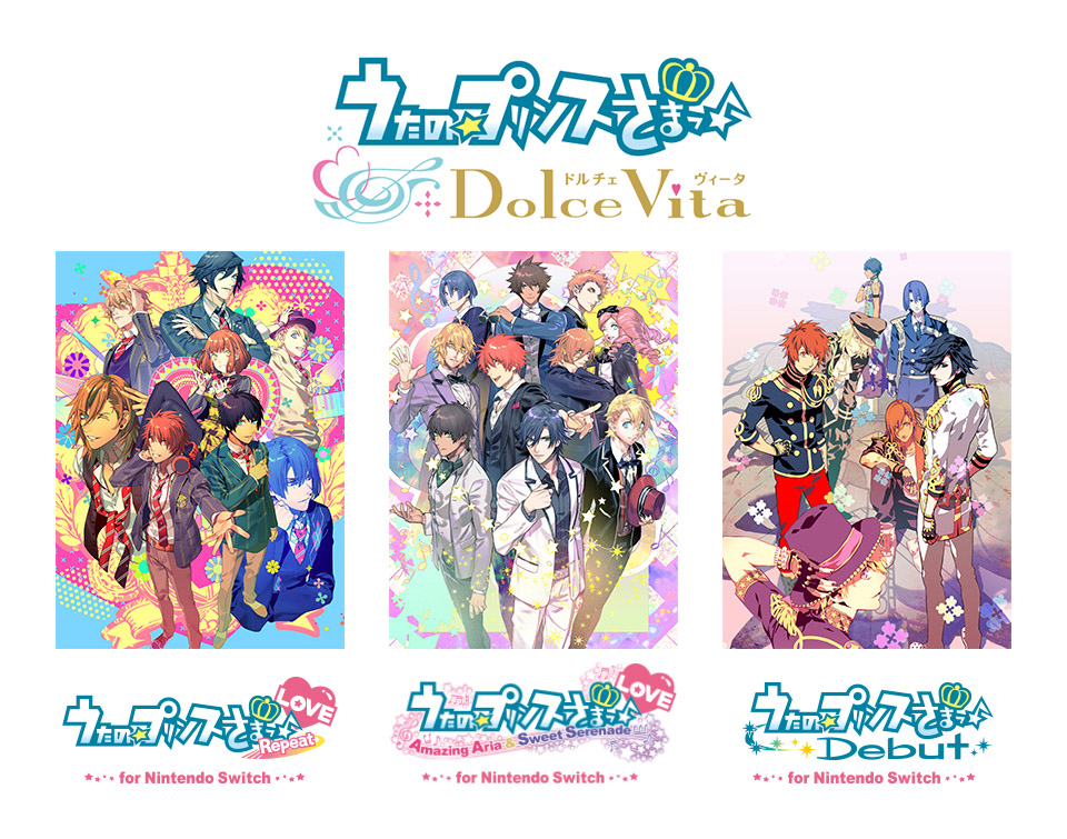 Uta no Prince-sama: Dolce Vita cancelled for PS Vita, now coming to Switch alongside three ports
