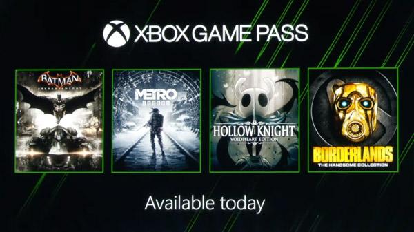 Xbox Game Pass adds Metro Exodus, Hollow Knight, Borderlands