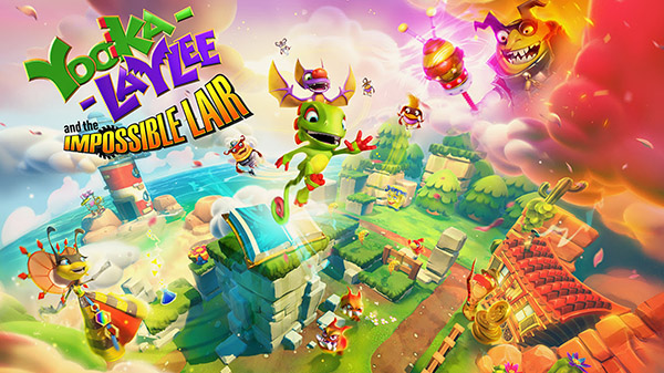 Yooka-Laylee and the Impossible Lair - Announcement Trailer