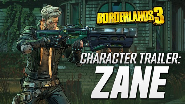 Get To Know Zane In Borderlands 3's Latest Character Trailer