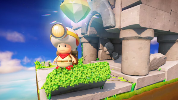 Nintendo's Captain Toad: Treasure Tracker Receives Labo VR Kit Support