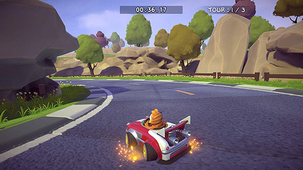 Garfield Kart Furious Racing announced for Nintendo Switch
