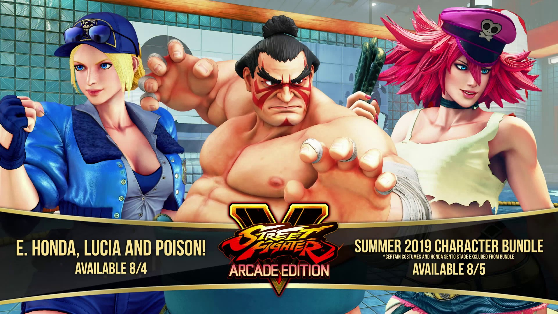 Three New Characters Will Be Updated in Street Fighter V