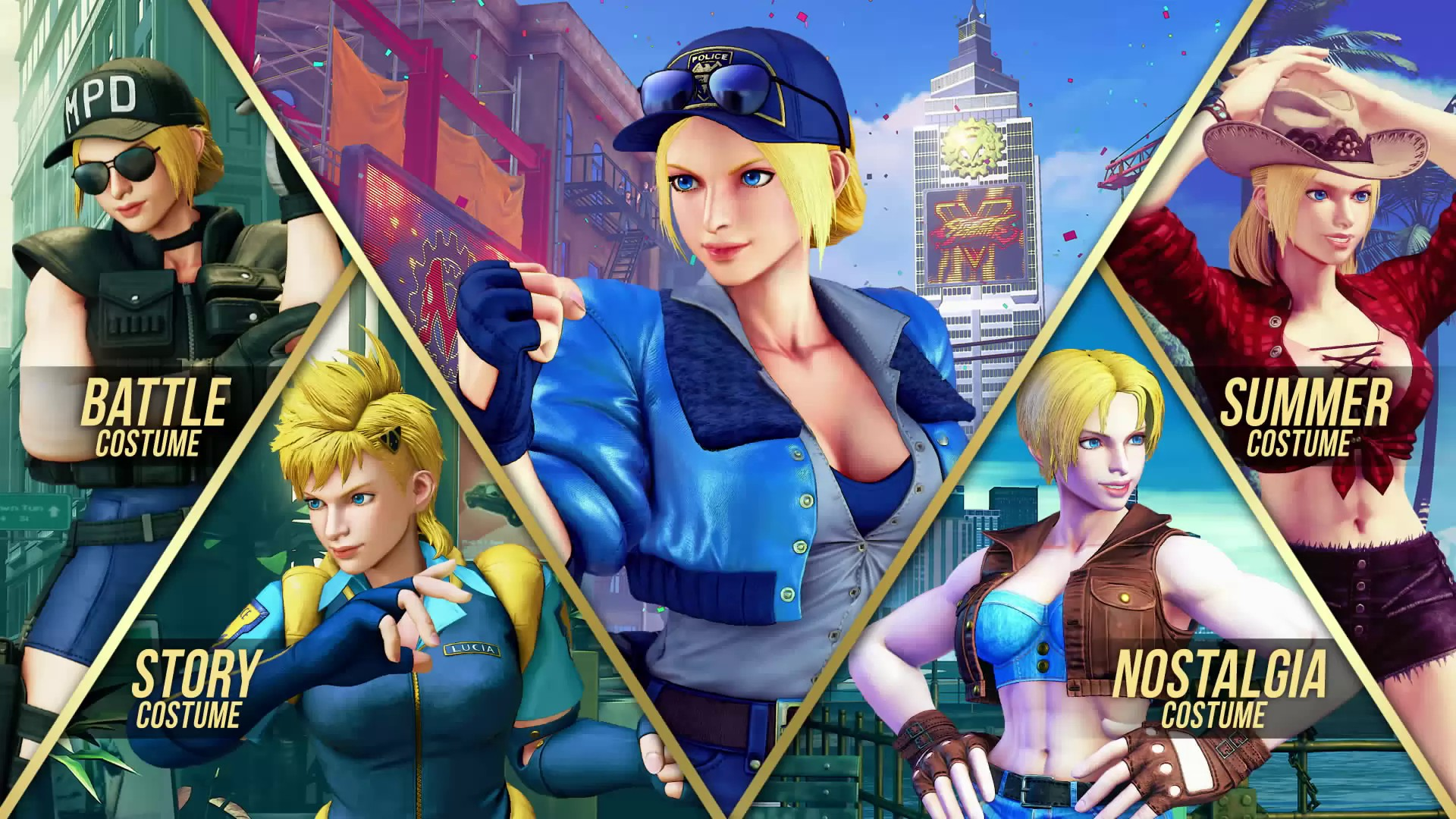Street Fighter V Arcade Edition Adds E Honda Lucia And Poison