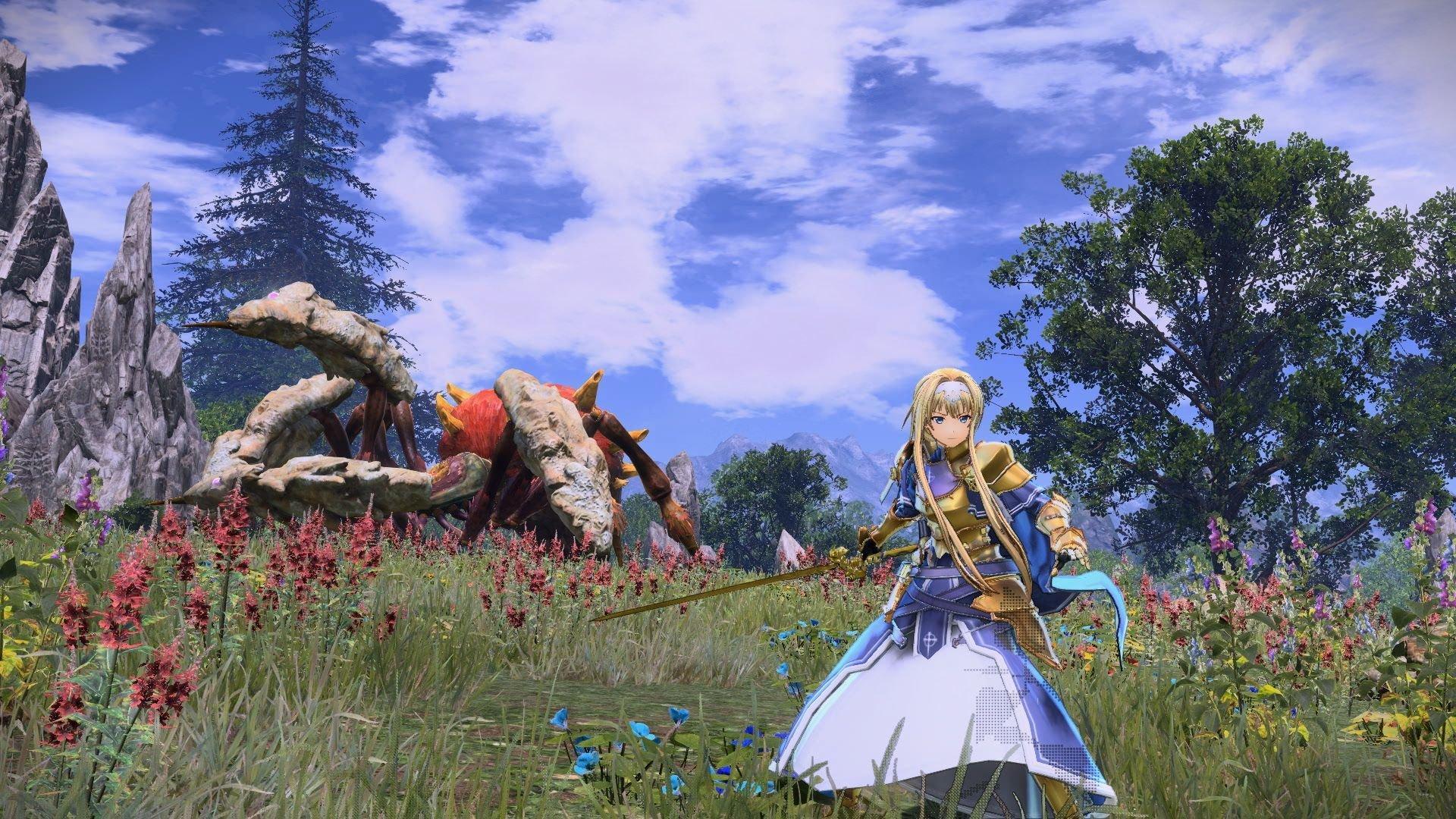 Sword Art Online: Alicization Lycoris first Alice gameplay