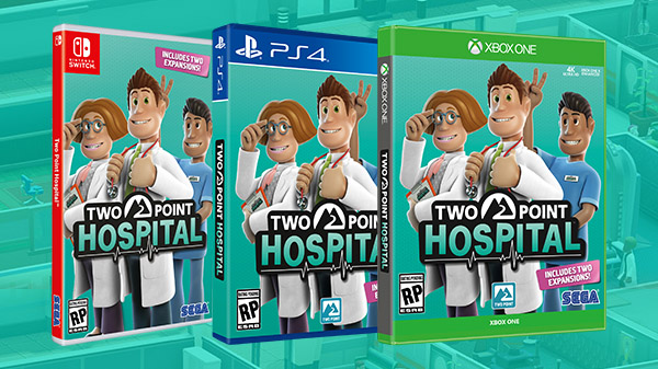 Two Point Hospital coming to Nintendo Switch