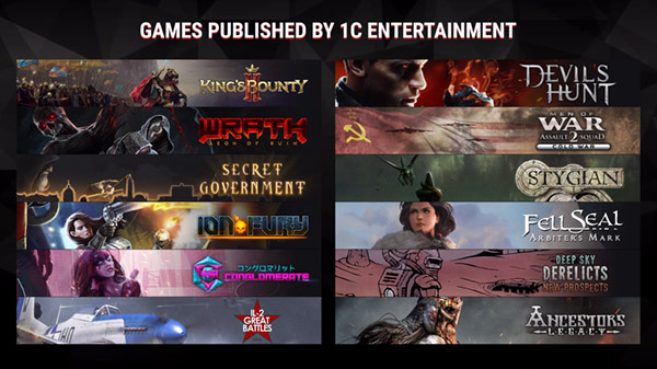 1C Entertainment at Gamescom 2019
