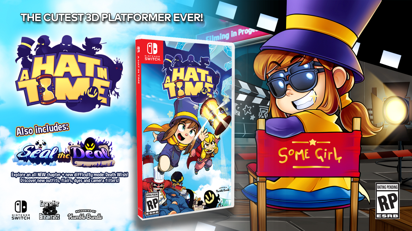 Image result for a hat in time switch