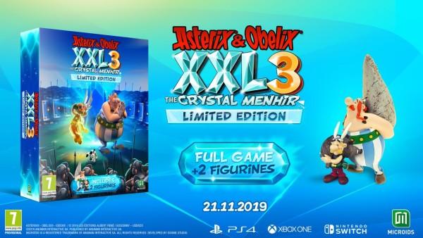 Asterix & Obelix XXL3: The Crystal Menhir