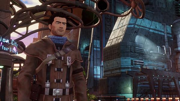 Beyond a Steel Sky official trailer, first look gameplay - Gematsu