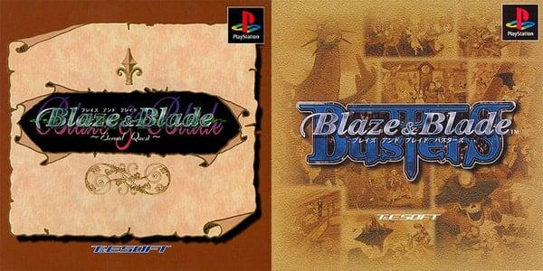 Blaze & Blade: Eternal Quest and Blaze & Blade: Busters