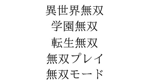 Japanese Trademarks: Musou