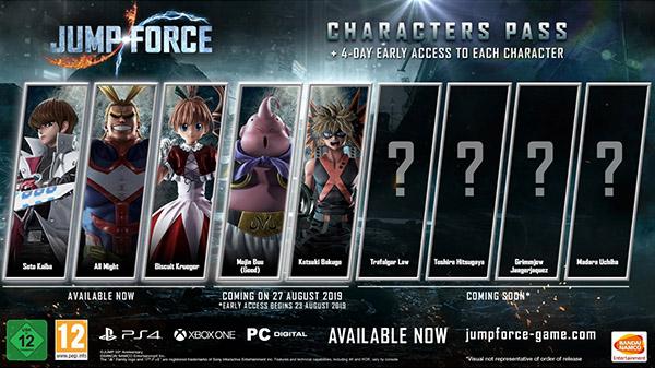 Jump Force Dlc Characters Majin Buu Good And Katsuki Bakugo Launch August 27 Gematsu