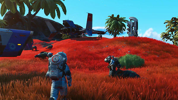 No Man's Sky Beyond Introduces Multiplayer Social Space, the Nexus