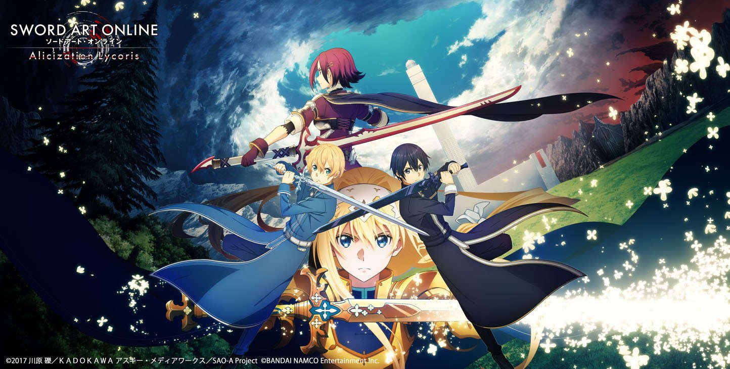 Sword Art Online Alicization Lycoris gamescom trailer has arrived