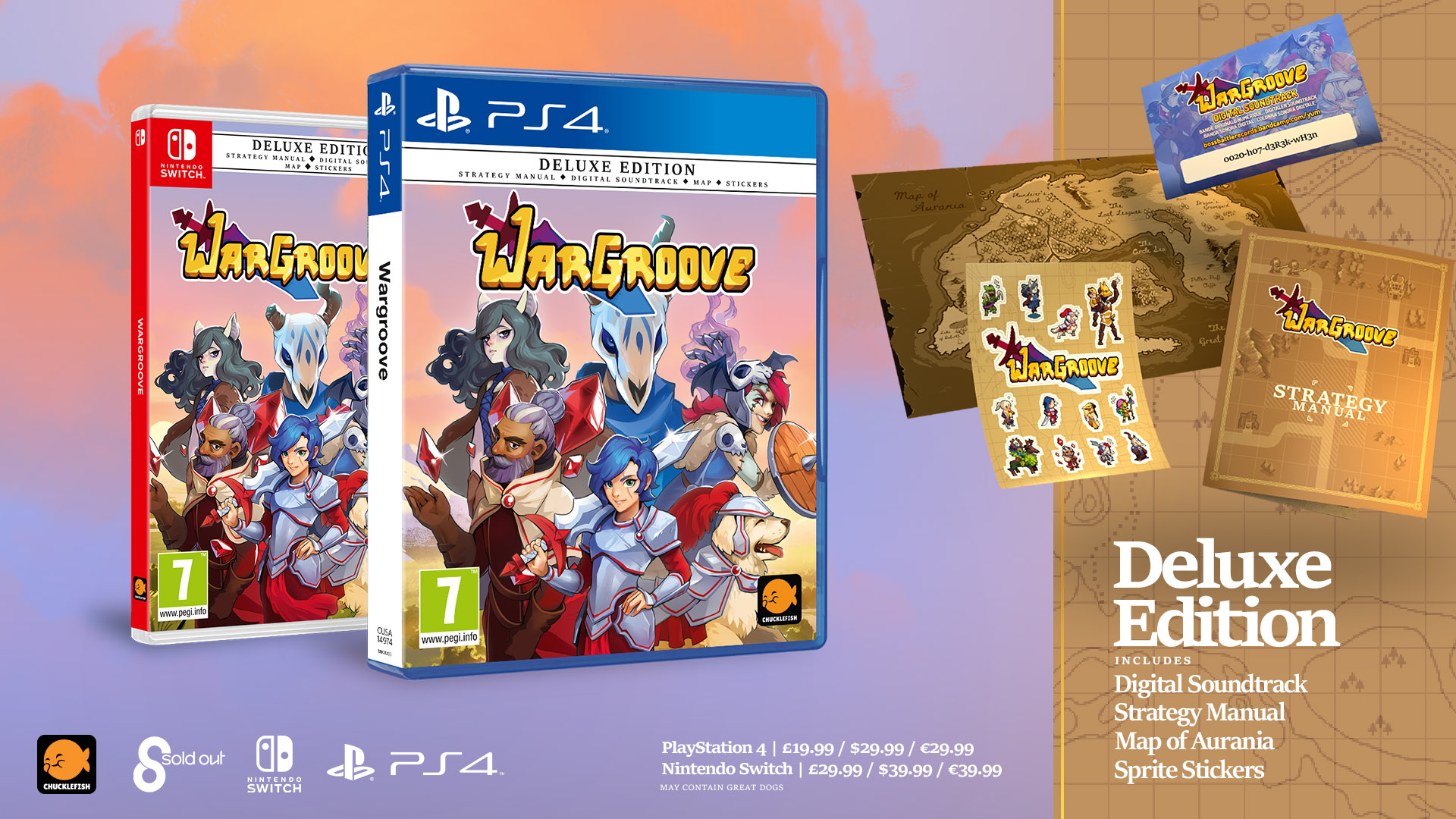 Wargroove PS4 and Switch physical edition launches this fall - Gematsu