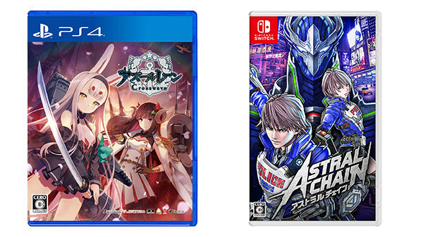 This Week's Japanese Game Releases: Astral Chain, Azur Lane: Crosswave, more