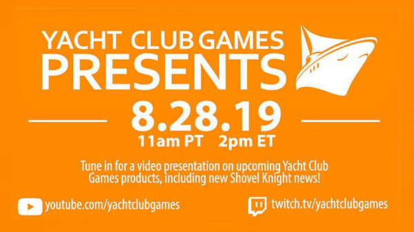 Yacht Club Games Presents