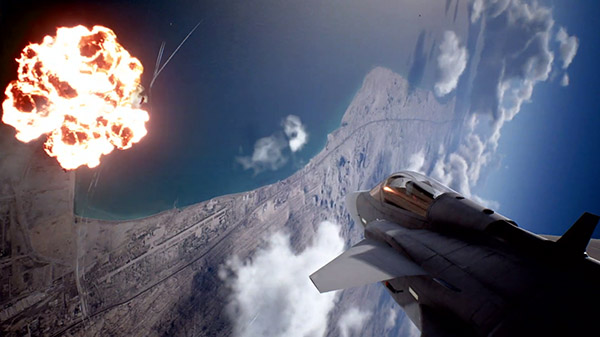 Ace Combat 7: Skies Unknown DLC 'Unexpected Visitor' trailer - Gematsu