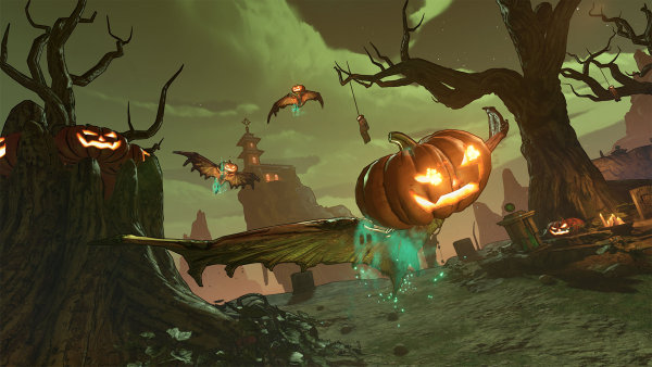 Borderlands 3 Free 'Bloody Harvest' Event Brings Spooky Stuff This Halloween