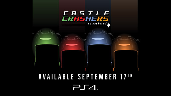 Castle Crashers Remastered for PS4 launches September 17 - Gematsu