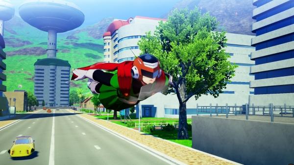 Dragon Ball Z: Kakarot screenshots - Bonyu, Majin Buu, Gohan, and Home Run Game - Gematsu