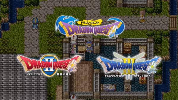 Dragon Quest I, II, and III