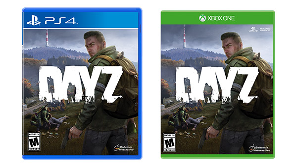 DayZ PS4 and Xbox One physical edition launches October 15 - Gematsu