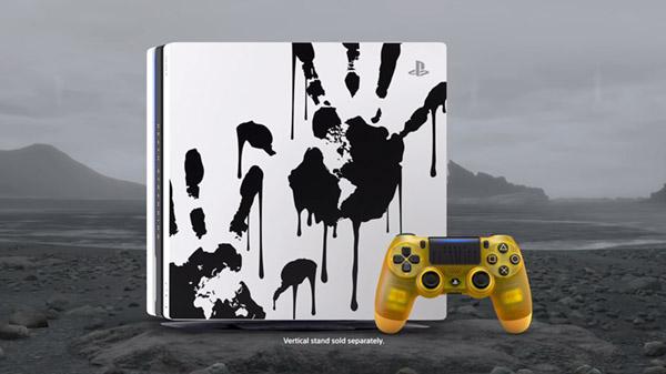 Limited Edition Death Stranding PS4 Pro bundle