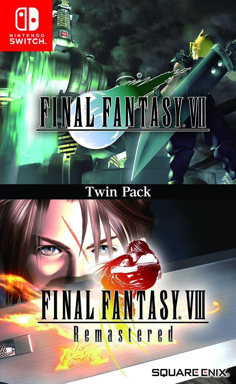 Final Fantasy VII VIII Box Art