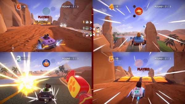 Garfield Kart Furious Racing Screenshots Gematsu