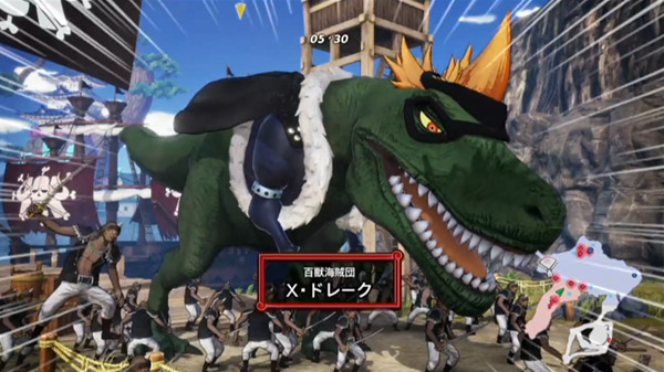 One Piece: Pirate Warriors 4 TGS 2019 Bandai Namco Stage gameplay