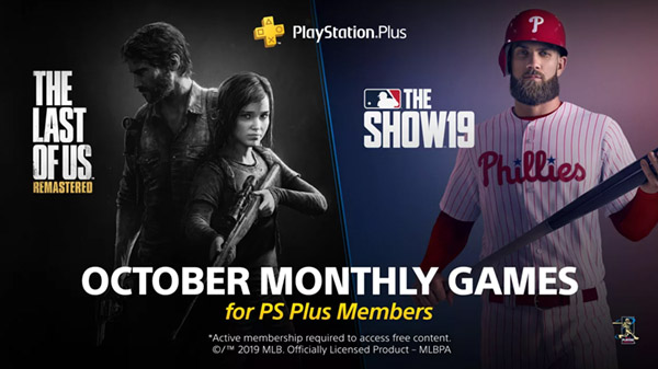 PlayStation Plus free games for October 2019