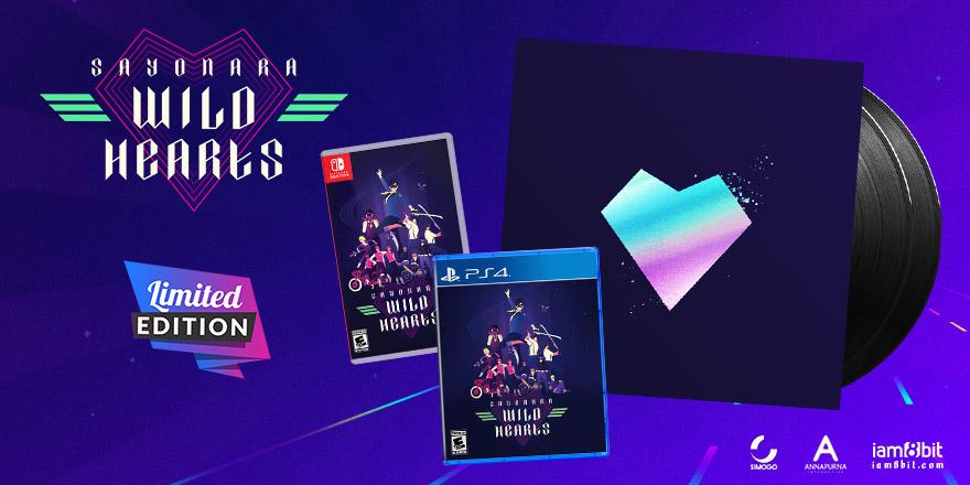 Sayonara Wild Hearts limited run physical edition announced