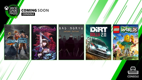 Jump Force & Bloodstained Come to Xbox Game Pass