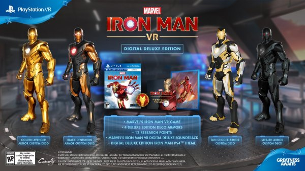 Iron Man VR Launches On PS4 At The End Of February