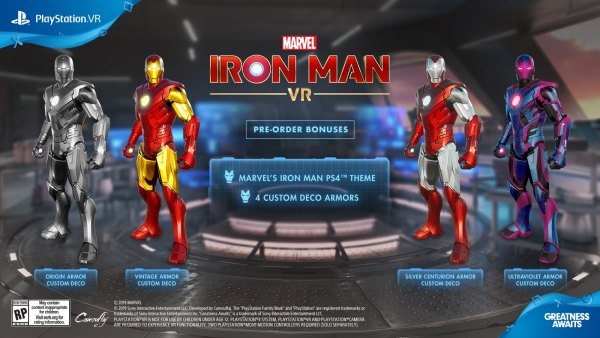 Iron Man VR suits up for February release date