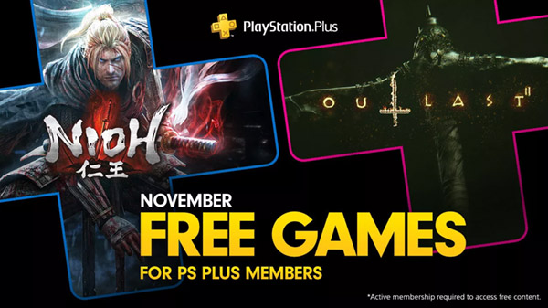 PlayStation Plus free games for November 2019