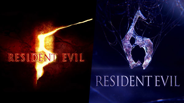 Resident Evil 5 and 6